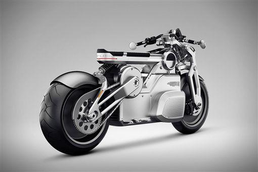 Zeus電動概念機車。(圖/翻攝Curtiss網站)