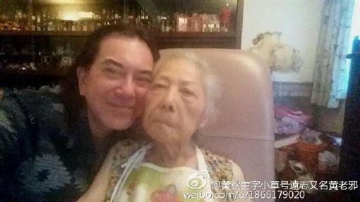 黃秋生,媽媽,/翻攝自微博