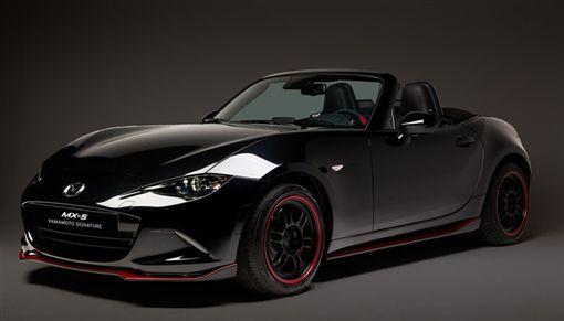 Mazda MX-5 Yamamoto Signature特仕版。(圖/翻攝Mazda網站)