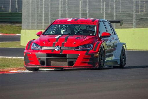 Volkswagen Golf GTI TCR。(圖/翻攝Volkswagen網站)