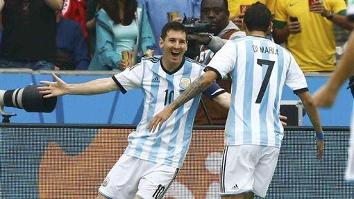 阿根廷足球隊是D組唯一拿過冠軍金盃的隊伍。圖片來源:美聯社