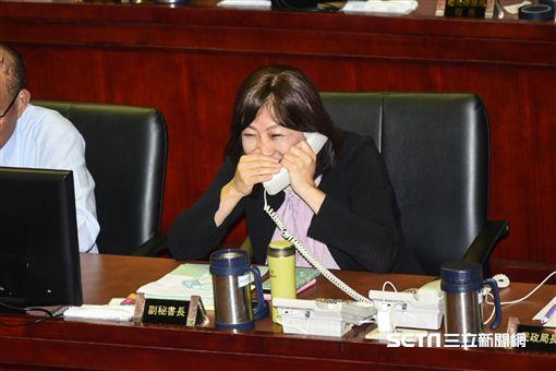台北市政府副秘書長李文英 圖/記者林敬旻攝
