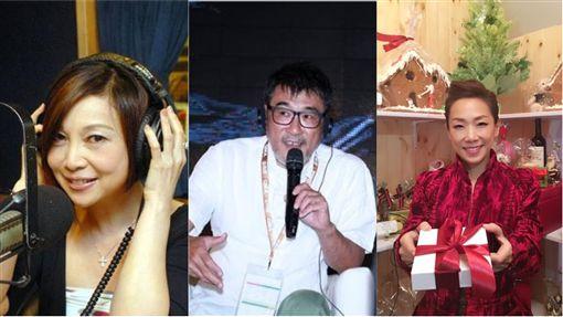 朱衛茵,李宗盛,林憶蓮/翻攝自朱衛茵、林憶蓮臉書、資料照