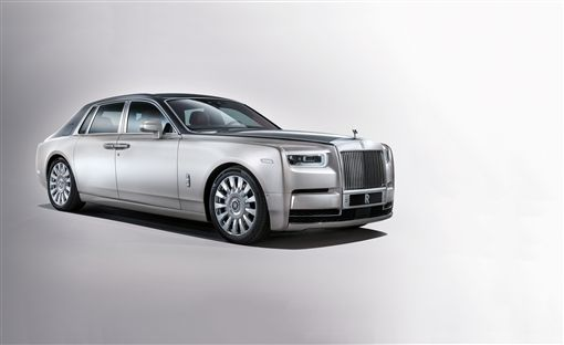 Rolls-Royce Phantom。(圖/翻攝Rolls-Royce網站)