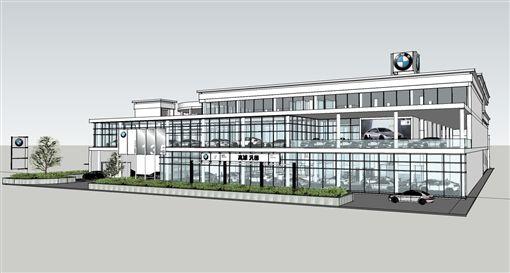 BMW高雄新生5S全功能展示暨服務中心。(圖/BMW提供)