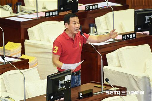 台北市議員鍾小平。 (圖/記者林敬旻攝)