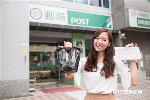 膠囊咖啡郵局回收服務。(圖/Nespresso提供)