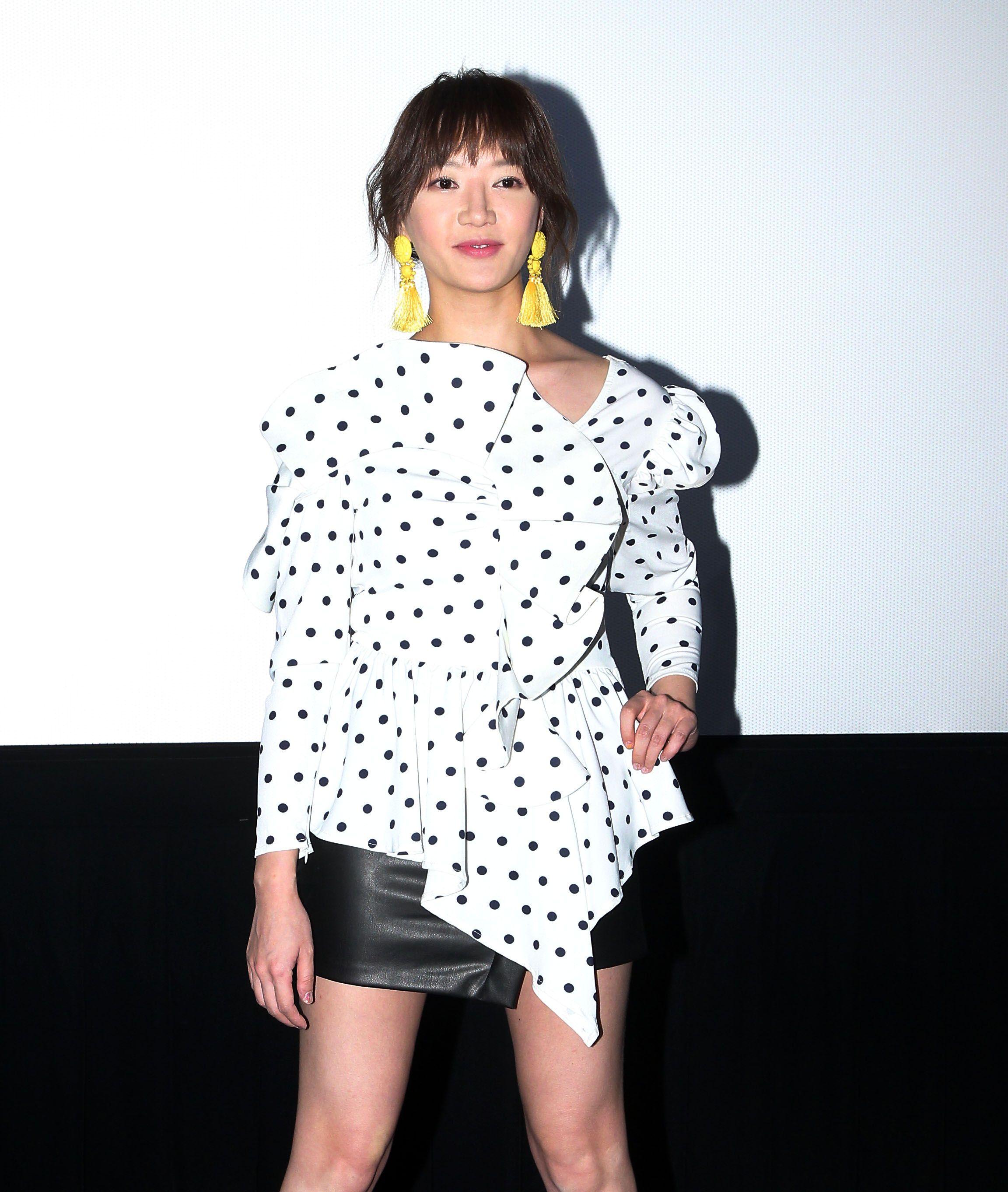 「前男友不是人」演員李杏。(記者邱榮吉/攝影)