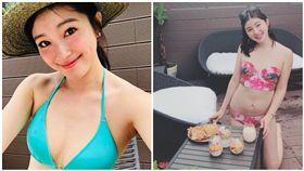 網拍女神,陳泱瑾,Grace,肚皮,比基尼,肚子/臉書