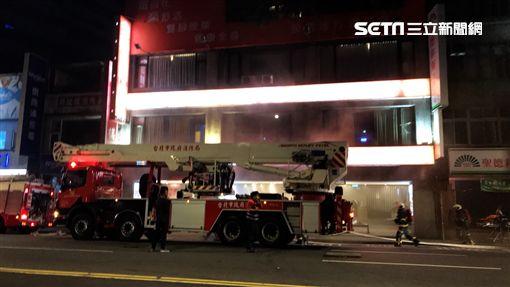 台北市,火警,復興南路,八德路 圖/記者簡佑庭攝影