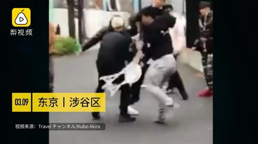 中國學生搶不到Supreme 打日本保全
