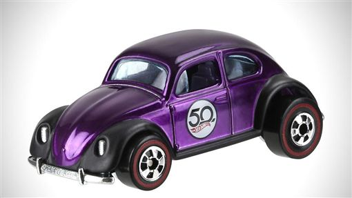 Hot Wheels 50周年紀念車。(圖/翻攝Hot Wheels網站)