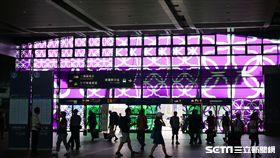 高鐵,台灣高鐵,台灣高鐵列車,車站,藝術元年。(圖/記者馮珮汶攝)