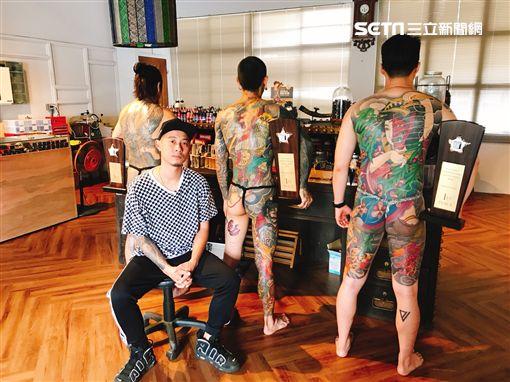刺青師詹岳霖 拿朋友皮膚當畫布