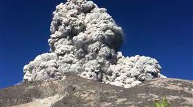 印尼,梅拉比火山,Merapi,噴發,火山灰,101(圖/翻攝自臉書OraLucu)