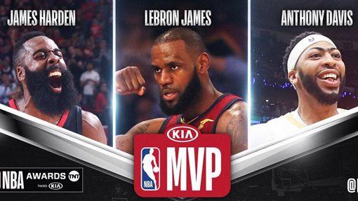 NBA年度MVP(圖/取自NBA官方推特)