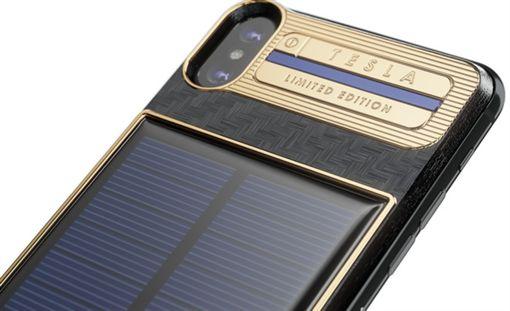 Caviar,iPhone X,太陽能,電池板,保護殼,蘋果