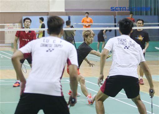 中華羽球隊將出征泰國湯優杯。(圖/記者劉忠杰攝影)