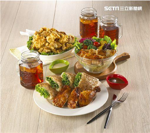 21PLUS,21香草烤雞,101大樓,黃金多汁烤雞,活力凱薩雞胸沙拉,Gravy雞肉燒餅