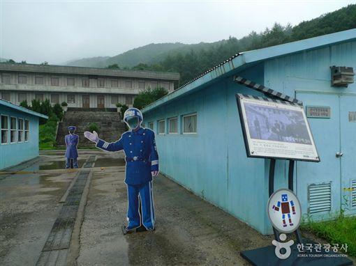 京畿道南楊州綜合攝影所,板門店佈景。(圖/翻攝自韓國觀光公社官網)