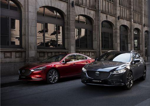 All-new Mazda6。(圖/Mazda提供)
