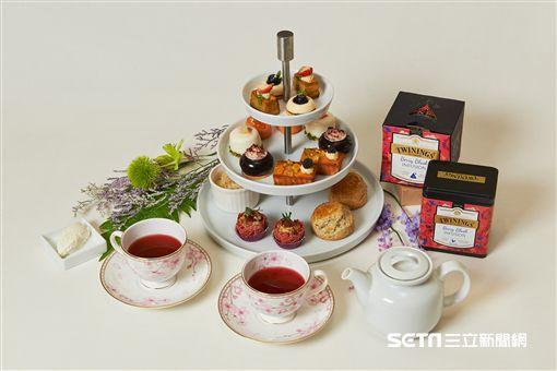 下午茶,唐寧茶。(圖/誠品行旅提供)