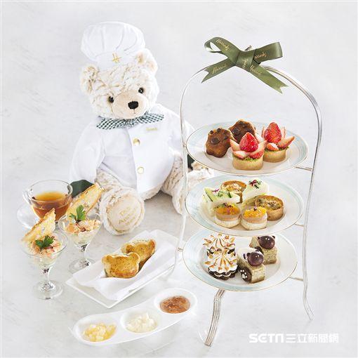 英式下午茶,Harrods。(圖/香格里拉台北遠東國際大飯店提供)