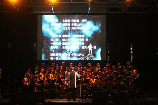 ▲▼2018玉山星空音樂會,是馬彼得校長特別為齊導而唱的音樂會。(圖/原聲童聲合唱團提供)