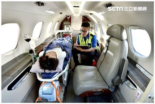 私人專機,機隊,飛特立航空,醫療專機,醫療救援,金門,離島,後送