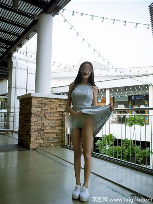 泰國,麥當勞,不雅照,內褲,網紅,網路 圖/翻攝自泰國網