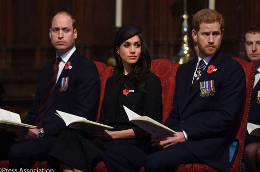 英國,皇室,婚禮,哈利王子,梅根馬克爾,王妃(圖/翻攝自推特)