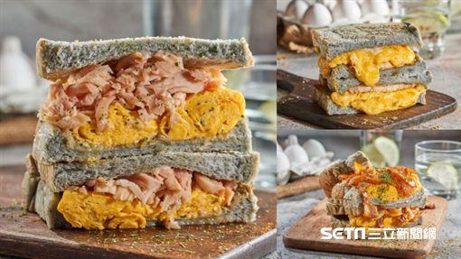 貳樓餐飲集團新品牌「包果」,主打慢煎奶油三明治。(圖/貳樓餐飲集團提供)