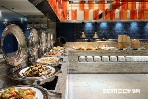 板橋凱撒朋派自助餐。(圖/板橋凱撒大飯店提供)