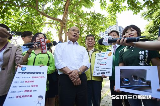 新北市長參選人蘇貞昌今日表示,選對會推誰出來他都支持,而且這個人選「一定是最強的。」(圖/林惟崧攝)
