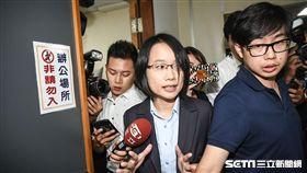 北農總經理吳音寧出面召開董事會。 (圖/記者林敬旻攝)