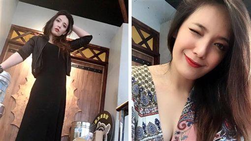 台中一名老闆娘小勳長相甜美,在西屯區經營蔥油餅小吃攤,去年因報導爆紅,有「台中林熙蕾」稱號。今(18)日她在臉書粉絲團po出一張刮痧後鮮紅的背部照,讓不少粉絲嚇得直呼「還以為家暴呢!」(圖/翻攝自臉書戀愛美式蔥油餅)