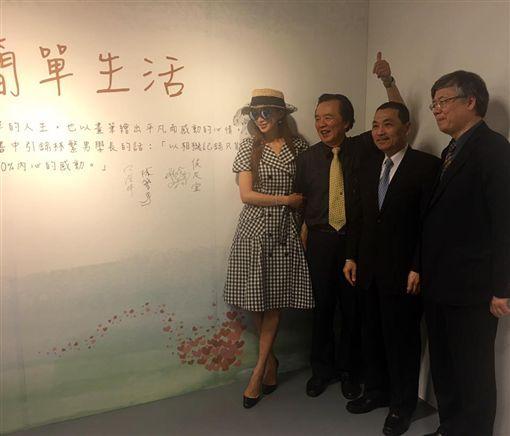 ▲林志玲與爸爸林繁男,做公益一向不落人後。(圖/翻攝自臉書)