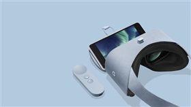 翻攝網路 Google AR VR頭戴式裝置