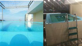 預訂越南飯店無邊際泳池 她入住後秒笑噴:被坑了 推特