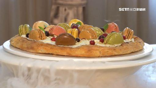 七彩馬卡龍「涼」披薩 打卡美食月賣逾300份