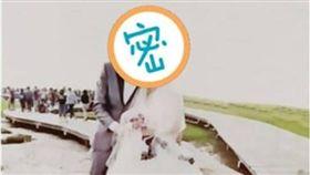 看過都說慘!婚紗照背景驚見「滿滿路人」 店家辯:很正常 圖/翻攝自爆怨公社