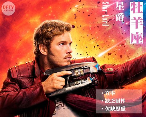 復仇者聯盟3:無限之戰,星座(圖/翻攝自數位未來 DFTV 大家一起看臉書粉絲專頁)