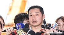 立法委員林昶佐出席環南市場上梁典禮。 (圖/記者林敬旻攝)