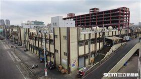 環南市場改建。 (圖/記者林敬旻攝)