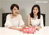雙人美聲團體「晨悠」接受三立新聞網專訪。(記者邱榮吉/攝影)