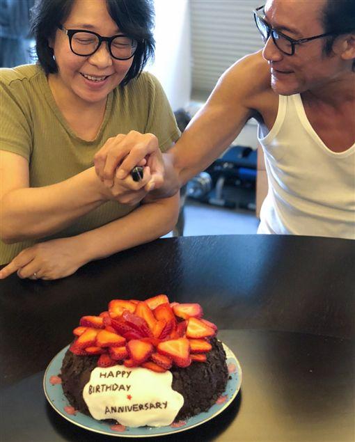 梁家輝,結婚紀念日,影帝,江嘉年,31年,Instagram 圖/翻攝自nikkiechleung_Instagram