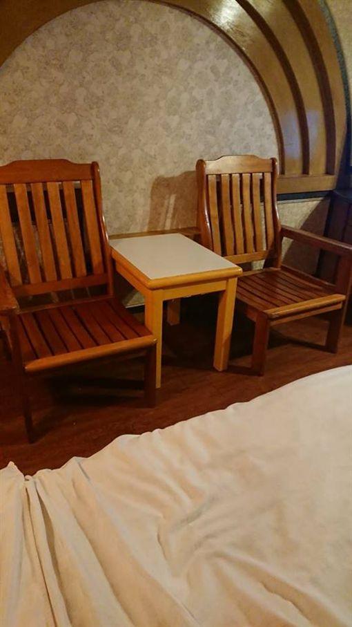 摩鐵、開房間、椅子、木椅/爆怨公社