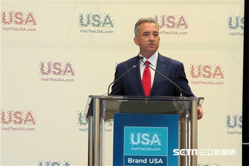 美國旅遊交易會, IPW, Brand USA, 美國旅遊。(圖/記者簡佑庭攝)