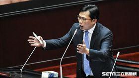 時代力量立法委員黃國昌。 圖/記者林敬旻攝