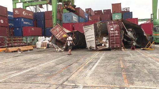 臭氣沖天! 事故船十貨櫃黃豆發臭惹民怨